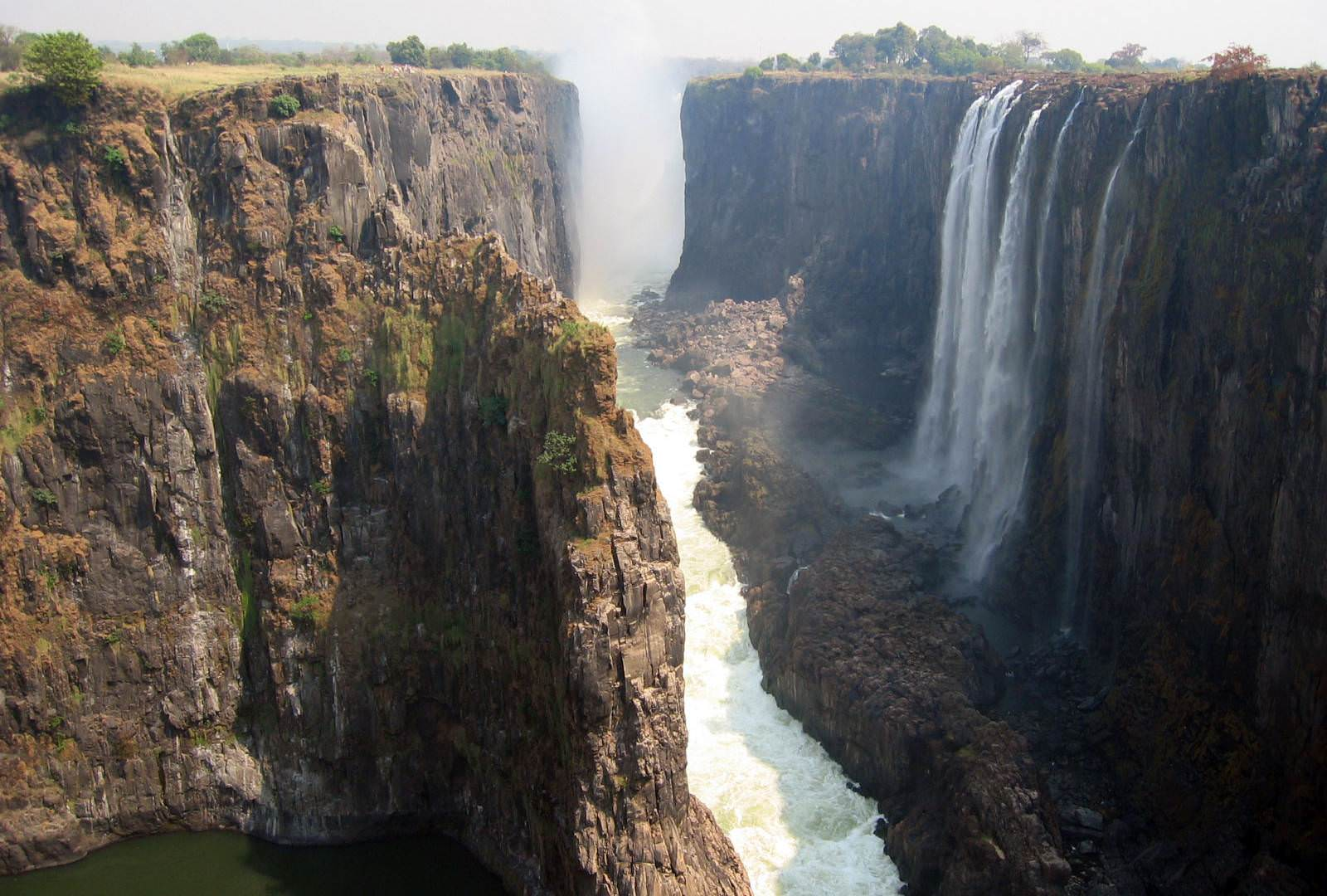 Wild Horizons Tour of the falls Zambian side